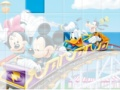 Game Mickey σε Rollercoaster. Παίξτε online